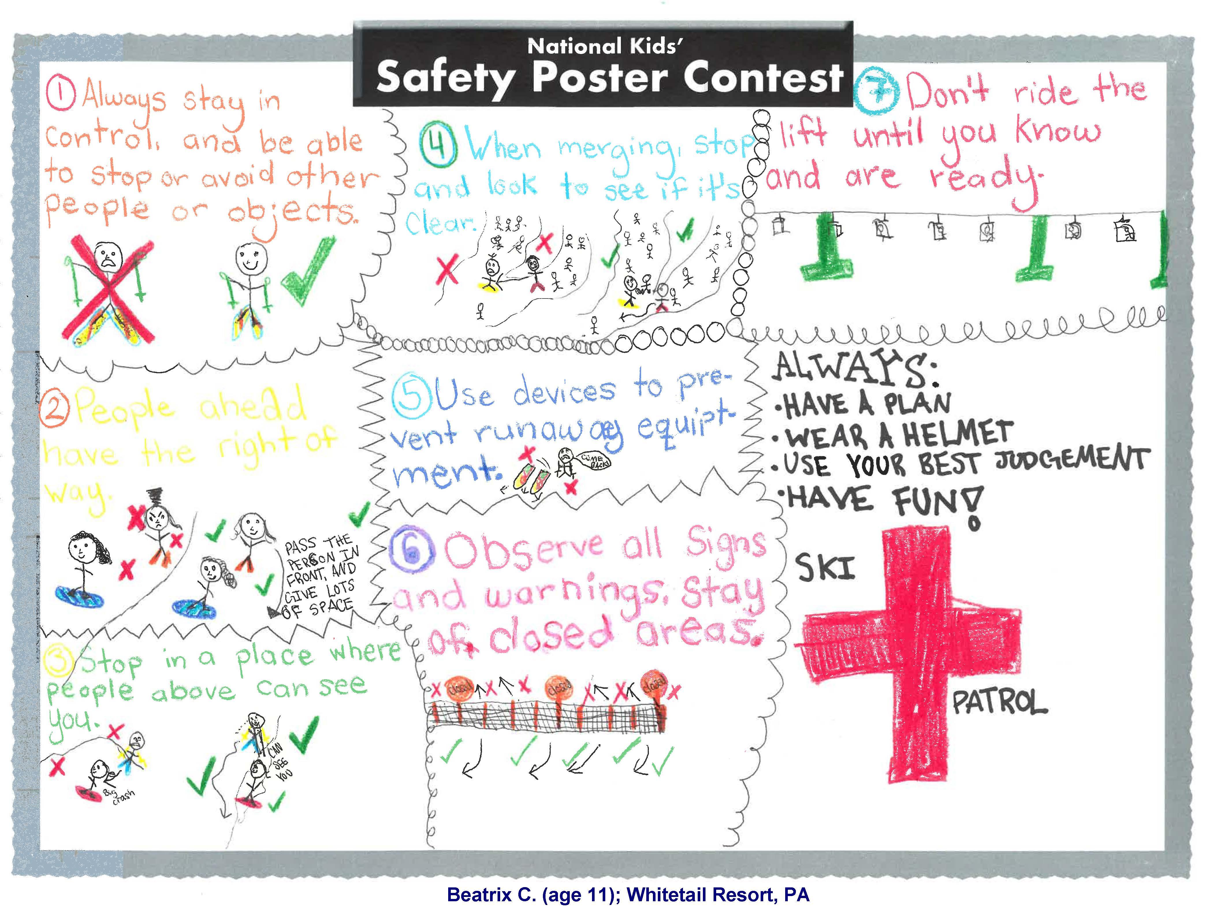 Best Safety Message 2020
